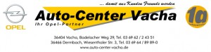 Logo Auto Center Vacha