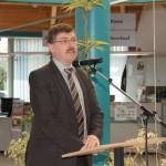 Eröffnung des Maifest - Landrat Krebs