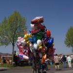 Luftballons beim Maifest