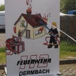Feuerwehr beim Maifest Dermbach