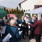 Sänger beim Maifest in Dermbach