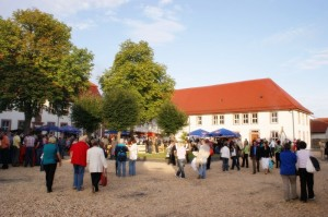 Markt beim Rhönpaulus Musical